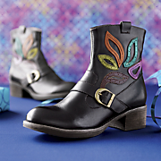 rosehill leather bootie by spring footwear