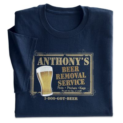 Personalized Beer Removal Tee