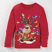 roscoe light up sweatshirt