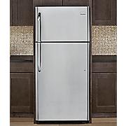 18 cu  ft  top freezer refrigerator by frigidaire