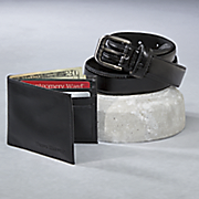 belt and wallet set by steve harvey
