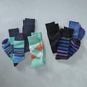 3 pair of socks by stacy adams