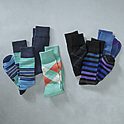 3 pair of socks by stacy adams