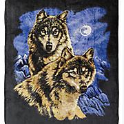 wildlife plush blanket 16