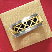 Stainless Steel Thorn Ring