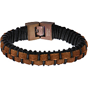 leather woven bracelet