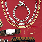 Stainless Steel Figaro Chain Jewelry