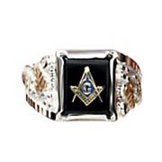 masonic emblem ring