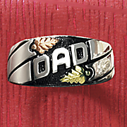 black hills gold dad ring