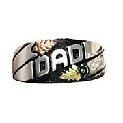 black hills gold dad ring
