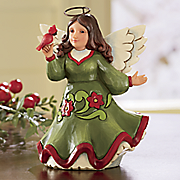 Jim Shore Christmas Blessings Soar Pint-Size Angel Figurine