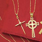 diamond cross pendant 1 34