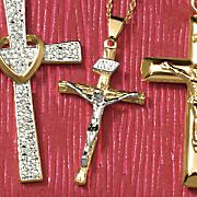 crucifix pendant 56
