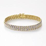 link diamond bracelet