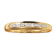 men s diamond inset band