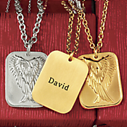 name wings pendant