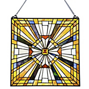 pharaoh s jeweled stained glass panel
