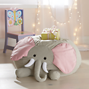 plush elephant chair