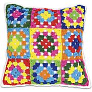 crochet pillow kit