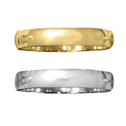 4mm Unisex 14K Gold Band