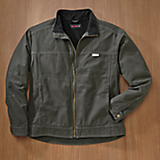 porter sueded canvas jacket by wolverine