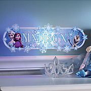frozen personalized sign
