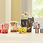 6 pc  minecraft animal set