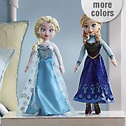frozen singing plush dolls