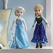 frozen singing plush dolls