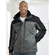 insulated  water resistant twill jacket by cat