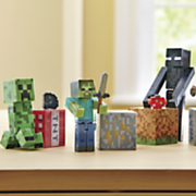 minecraft core figures with accessories