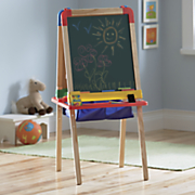 3 in 1 magnetic wood easel by crayola