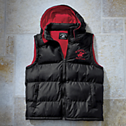 Hooded Bubble Vest by Beverly Hills Polo Club