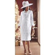 Marquise Hat and Jacket Dress