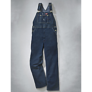 denim bib overall by dickies