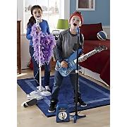 guitar  microphone   amplifier set