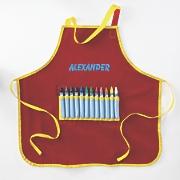 Personalized Crayon Apron