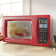 red microwave by magic chef 85