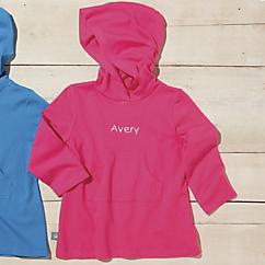 sun smarties pink cotton hoodie