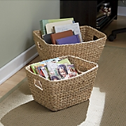 Set of 2 Woven Baskets