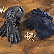 fleece hat and glove set 13