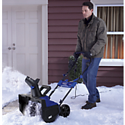 electric snow thrower by snow joe