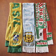 national soccer scarf