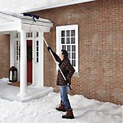 telescoping roof rake by snow joe