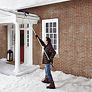 telescoping roof rake by snow joe