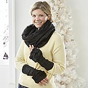 cableknit fur accessories