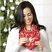 pocket infinity scarf