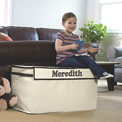 Large Collapsible Canvas Toy Box OSA