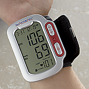 wrist cuff blood pressure monitor