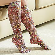 holiday compression socks